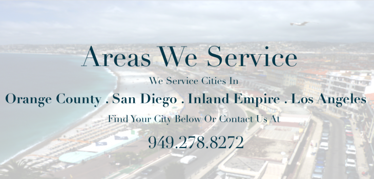 our service areas header
